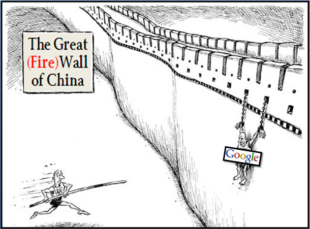 google great firewall of china Banned from china, learn how google is trying to make the most of the chinese market.