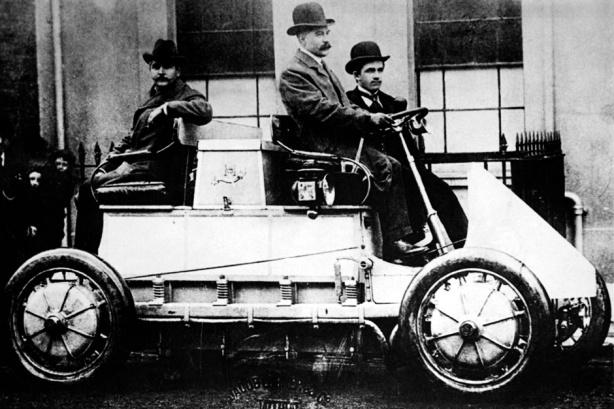 Электромобиль Porsche начала 1900-х годов