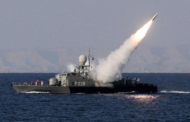 Iranian battleship