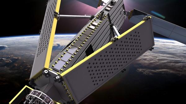 Rockot satelite
