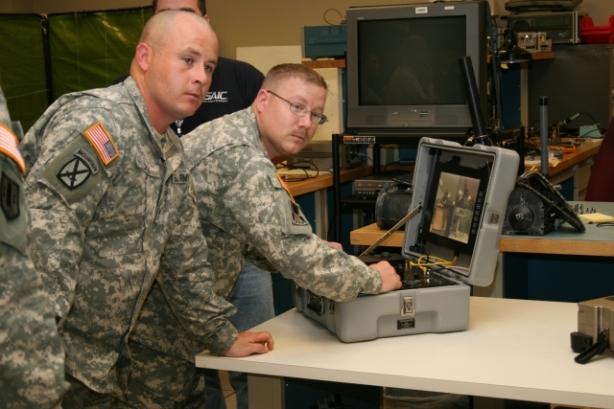 USA army computer complex
