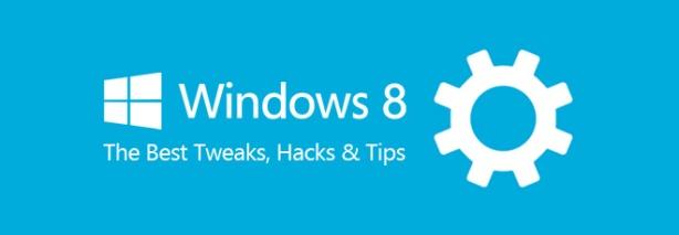Windows-8 Hacks