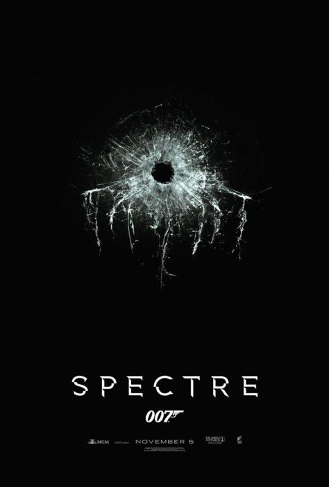 Bond 24 krijgt de titel SPECTRE poster